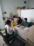 Dokumentasi Penerimaan Beasiswa Wilayah Depok
