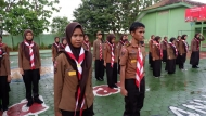 Kegiatan Pramuka SMAN 13 Bandar Lampung