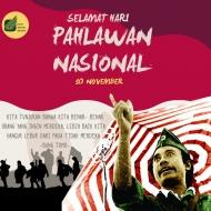 Selamat Hari Pahlawan Nasional
